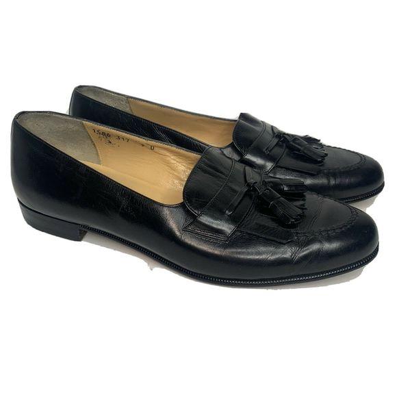 Salvatore Ferragamo Leather Loafers Men's 9 D